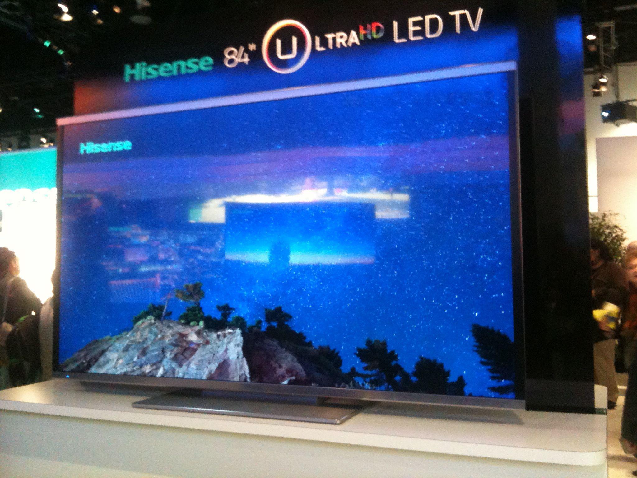 La TV mas grande del mundo 110 pulgadas